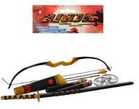 Набір ніндзя 709142 меч, лук, нунчаки, сюрікени