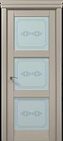 """Дерев'яні двері покриті екошпоном з 3-D ефектом модель"""" ML-07"""""""