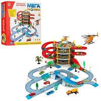 Детская игрушка мега-парковка паркинг. Гараж 922-10