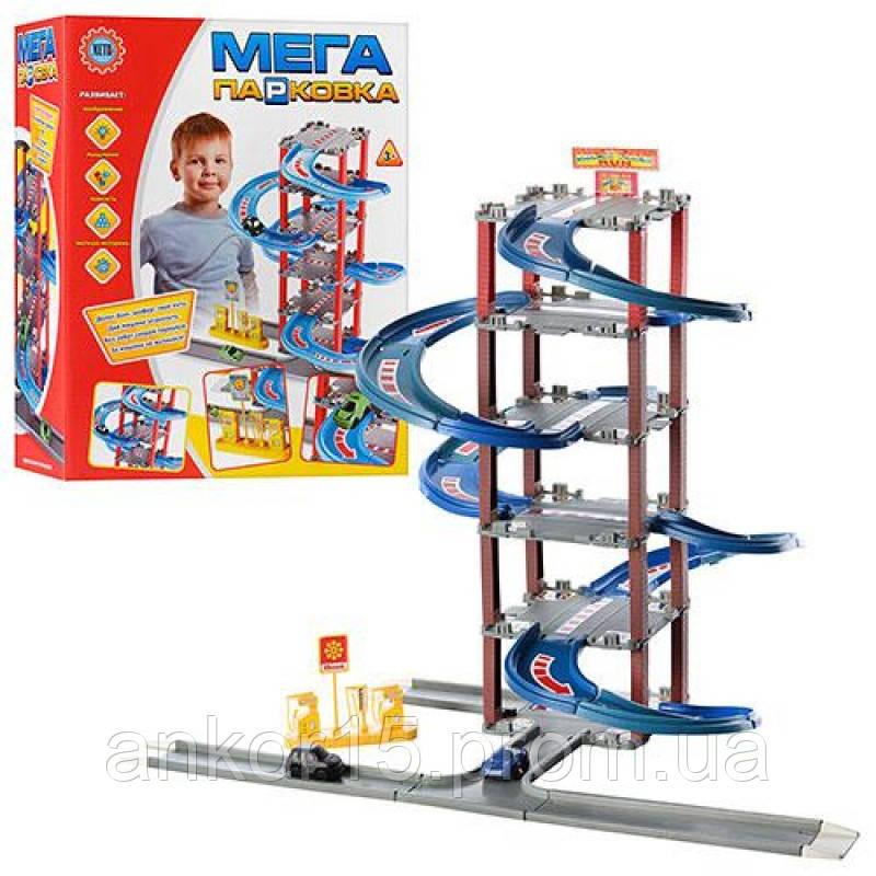 Гараж 6 поверхів, машинки, спуск, ліфт, парковка 922-4