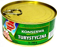 Курино-свинная консерва EvraMeat Turystyczna 300h.