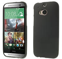 Силиконовый чехол накладка для HTC One 801e (M7) Black