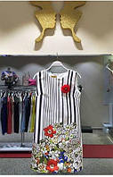 Нарядное платье Zanardi копия Gucci