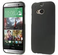 Силиконовый чехол накладка для HTC One (M8) Black