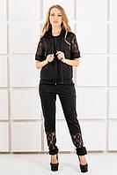 Женский спортивный костюм Рошаль цвет черный размер 44-54