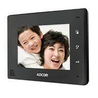 Видеодомофон Kocom KCV-A374 monoSD(black)