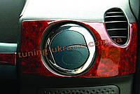 Окантовка на вентиляционные створки Omsa на Fiat Doblo 2000-2010