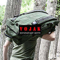 Баул-рюкзак армейский (ANTITERROR) 80л. OLIVE