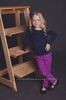 Модные вельветовые брюки для девочек 110-134