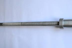 Гриф для штанги олимпийский220 см, 50 мм, фото 2