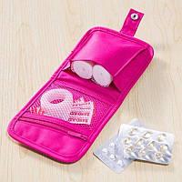 Органайзер-Аптечка дорожный розовый