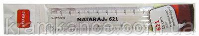 Линейка NATARAJ-irule 20см пластик 204468001
