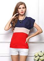 Женская футболка с полосами СС7071