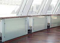 Экран на радиатор из стекла матовый