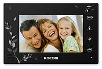 Видеодомофон Kocom KCV-A374 SD LE (black)