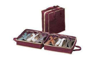 Органайзер для хранения обуви Shoe Tote Bag сумка для обуви, фото 3