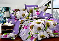 Семейный комплект постельного белья сатин (7315) TM KRISPOL Украина