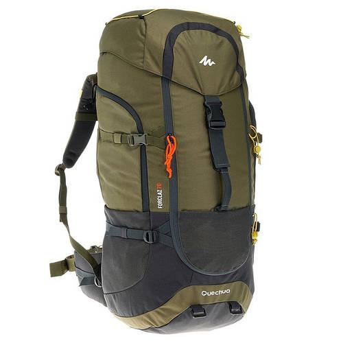 Рюкзак туристический Quechua Forclaz 70 хаки