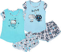 Летняя пижама для девочки Фея (6-10 лет)
