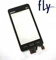 Touchscreen (сенсорный экран) для FLY E171, wi-fi, черный, оригинал