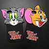 Чехол силиконовый для iPhone 6 / 6s Tom and Jerry 3D