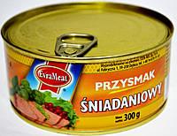 Курино-свинная консерва EvraMeat Sniadaniowy 300h.