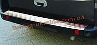Накладка на задний бампер Omsa на Fiat Doblo 2000-2010