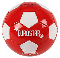 Мяч футбольный ЕвроCтар 5/22 см, в ассортименте