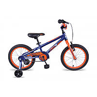 Велосипед 16″ Apollo Neo boys 2017 Gloss Navy Blue / Gloss Orange / Gloss White , фото 1