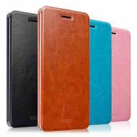 Кожаный чехол книжка MOFI для Meizu MX6 (4 цвета)
