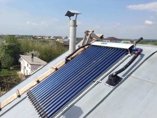 Монтаж на плоскую крышу