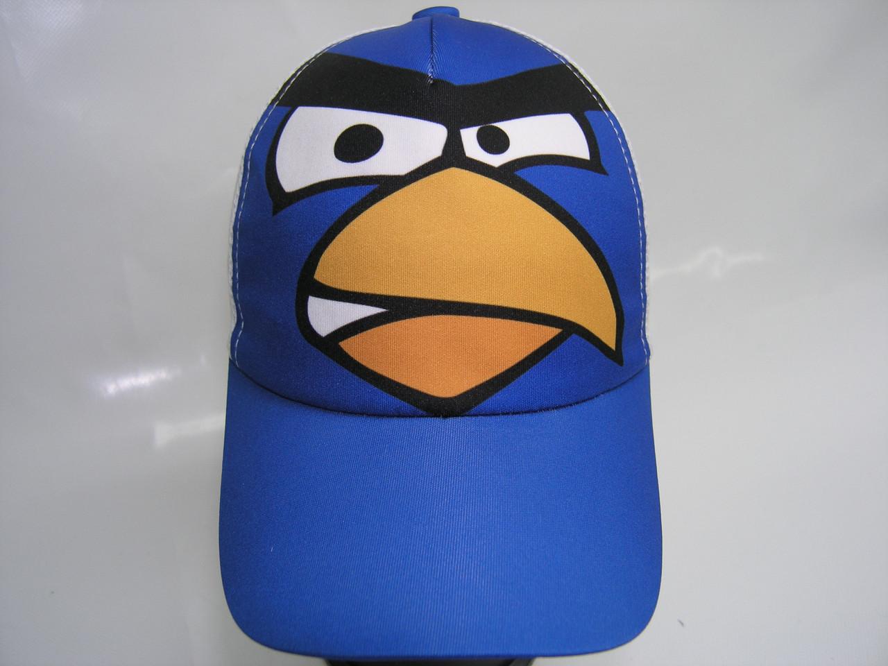 Кепка детская - птица синяя