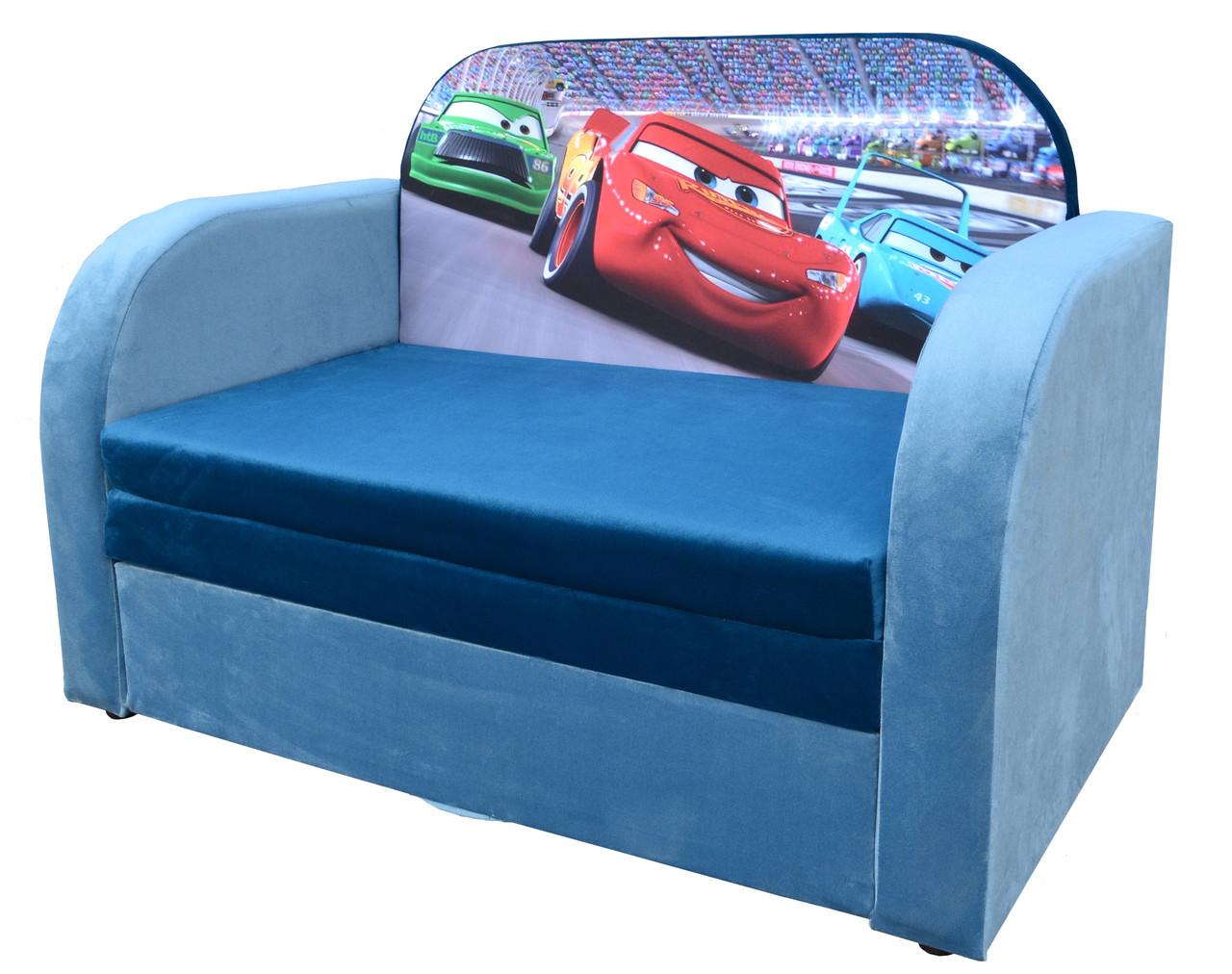 Детский диван-кровать с коробом для хранения Трио