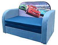 """Детский диван-кровать с коробом для хранения Рио """"Тачки"""""""