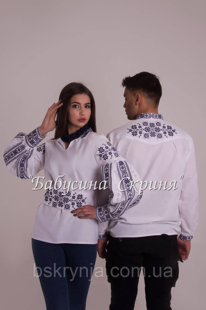 Заготовка жіночої сорочки для вишивки нитками/бісером БС-110