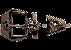 Пряжка 52(20) темный никель