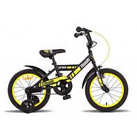 Велосипед 16″ Pride Flash желтый/красный/черный 2017