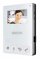 Видеодомофон Kocom KCV-434(white/black)