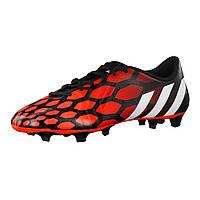 Футбольні бутси Adidas Predito Instinct FG CBlack/CWhite/SolRed (M17656) (оригінал), фото 1