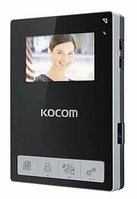 Видеодомофон Kocom KCV-434SD (white/black)