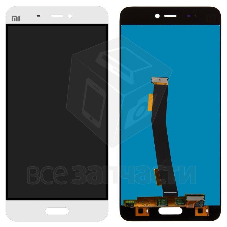Xiaomi Mi5  Дисплейный модуль для мобильного телефона белый