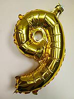 """Фольгированные шары цифры """"9"""" 30 см"""