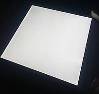Светодиодная LED панель 40W 5000K 3200Lm ВРЕЗНАЯ И ВСТРАИВАЕМАЯ 600х600х8мм  матовая с алюминием