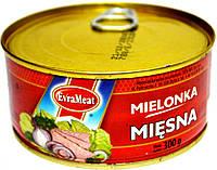Курино-свинная консерва EvraMeat Miesna 300h.