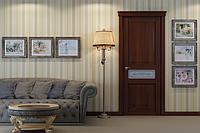 """Деревянные двери покрытые   экошпоном с 3-D эффектом модель"""" ML-13"""""""