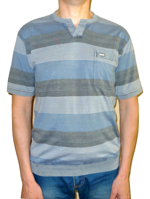 Мужская джинсовая футболка