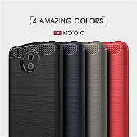 TPU чехол накладка Urban  для Motorola Moto C (5 цветов)