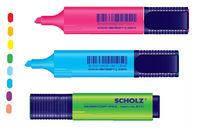 Текст. маркер, 1-5 мм , 210 фіолетовий,  SCHOLZ