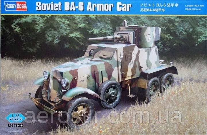 Soviet BA-6 Armor Car 1/35 HOBBY BOSS 83839