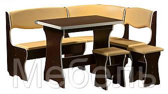 Кухонный уголок Скиф  Mobili&Vetro угол+стол+2 табуретки
